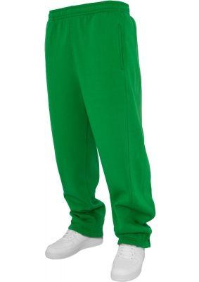 Pantaloni trening simpli pentru copii verde Urban Classics
