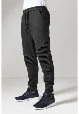 Pantaloni sport Pleat negru Urban Classics