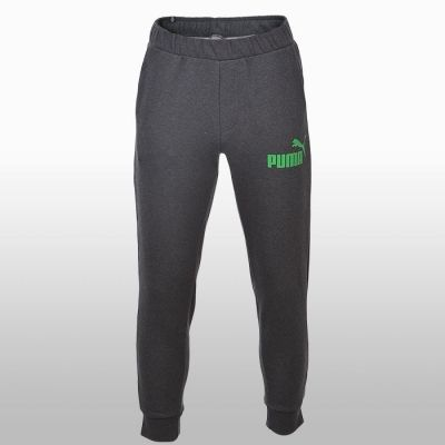 Pantaloni sport gri conici Puma Ess No.1 Sweat Pants Barbati