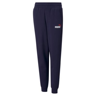 Pantaloni sport Puma No1 Logo pentru baietei albastru