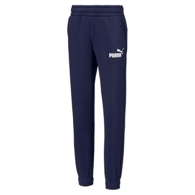 Pantaloni sport Puma No1 Logo pentru baietei bleumarin