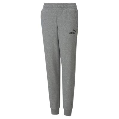 Pantaloni sport Puma No1 Logo pentru baietei gri