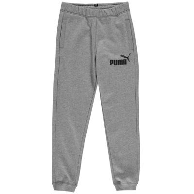 Pantaloni sport Puma No1 Logo pentru baietei gri carbune