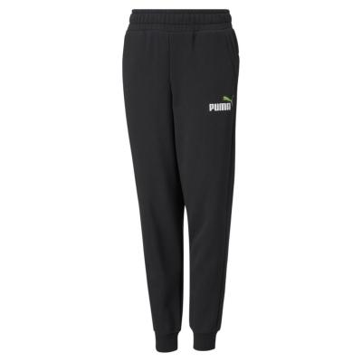 Pantaloni sport Puma No1 Logo pentru baietei negru verde