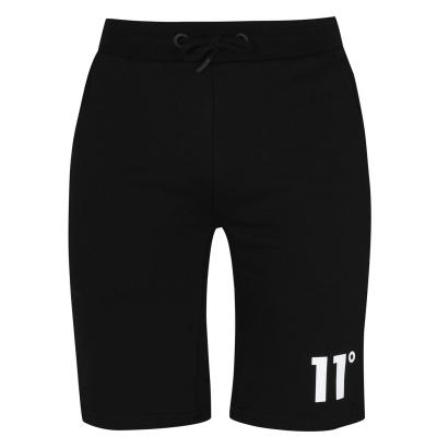Pantaloni sport scurti 11 Degrees Core negru