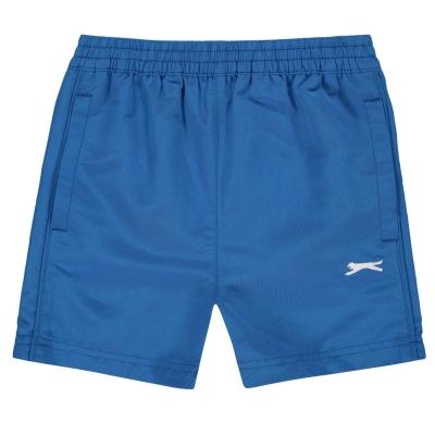 Pantaloni scurti Slazenger Woven baietei albastru roial