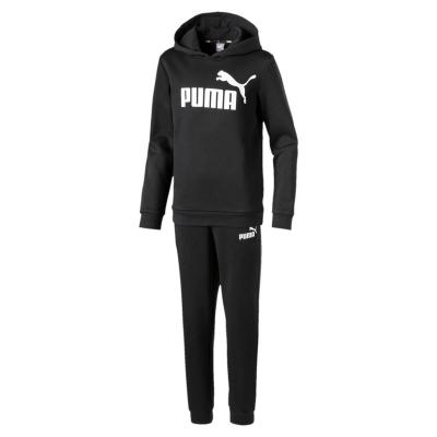 Pantaloni sport Set Hanorac Puma OTH And pentru baietei negru alb