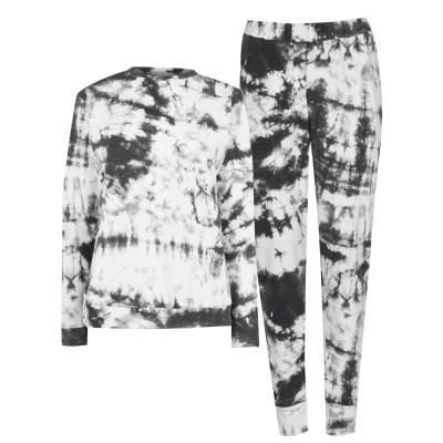 Pantaloni sport Set Treninguri Miso Top and cu mansete Loungewear Co Ord