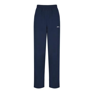 Pantaloni sport Slazenger fara mansete Woven pentru Barbati bleumarin