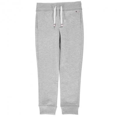 Pantaloni sport Tommy Hilfiger Tommy Basic gri