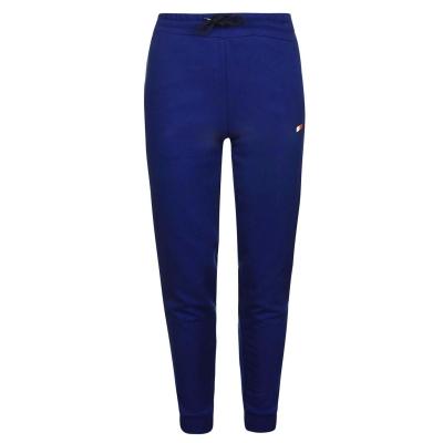 Pantaloni sport Tommy Sport Tape albastru