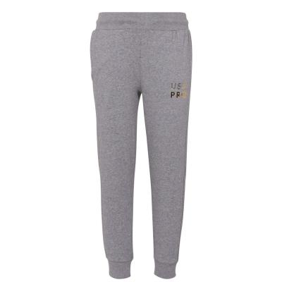 Pantaloni sport USA Pro clasic pentru fetite gri