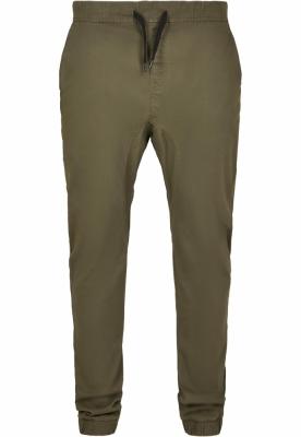 Pantaloni Stretch Jogger oliv Southpole