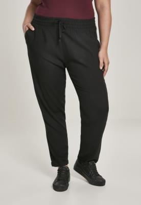 Pantaloni talie elastica pentru Femei negru Urban Classics