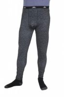 Pantaloni termali barbati Train Dark Grey Trespass