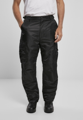 Pantaloni termic negru Brandit
