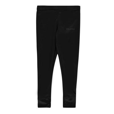 Pantaloni Campri termic Unisex pentru Bebelusi negru