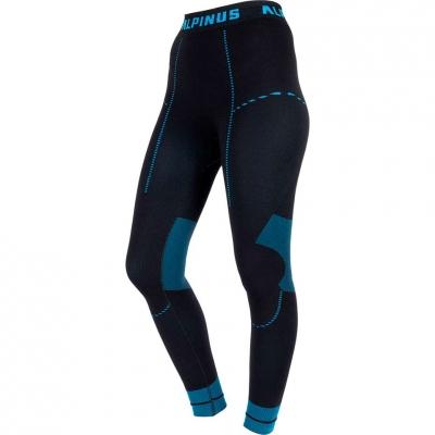 Pantaloni Thermoactive Alpinus Tactical Base Layer negru And albastru GT43215 pentru femei