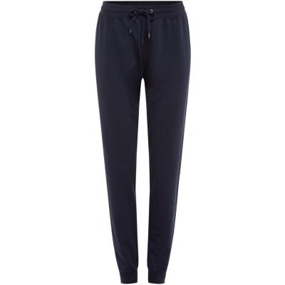 Pantaloni Tommy Bodywear Iconic loungewear track bleumarin