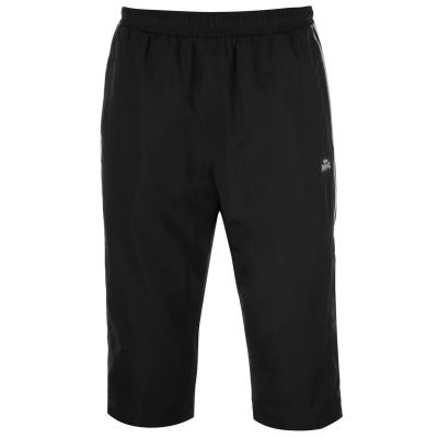 Pantaloni Trei Sferturi Lonsdale 2 cu dungi pentru Barbati negru