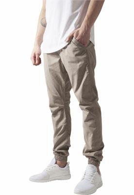 Pantaloni trening bumbac barbati bej Urban Classics