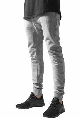 Pantaloni sport Curved Urban Classics gri