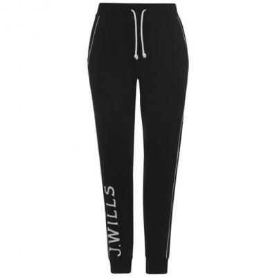 Pantaloni sport Jack Wills Dunnock negru