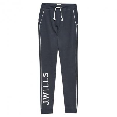 Pantaloni sport Jack Wills Dunnock bleumarin