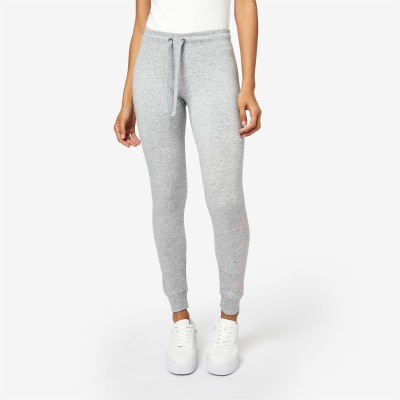 Pantaloni sport Jack Wills Lingham Wills Logo gri