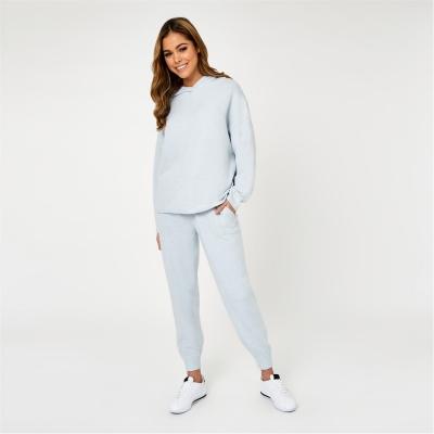 Pantaloni sport Jack Wills Lounge tricot soft albastru