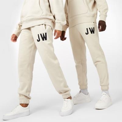 Pantaloni jogging Jack Wills Unisex Varsity maro deschis