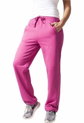 Pantaloni trening largi dama fucsia Urban Classics