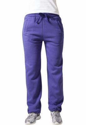 Pantaloni trening largi dama mov Urban Classics