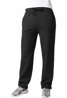 Pantaloni trening largi dama negru Urban Classics