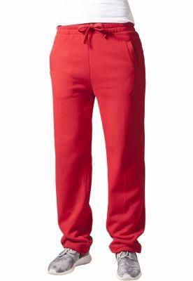 Pantaloni trening largi dama rosu Urban Classics
