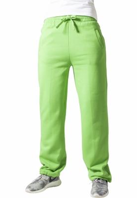 Pantaloni trening largi dama verde-lime Urban Classics