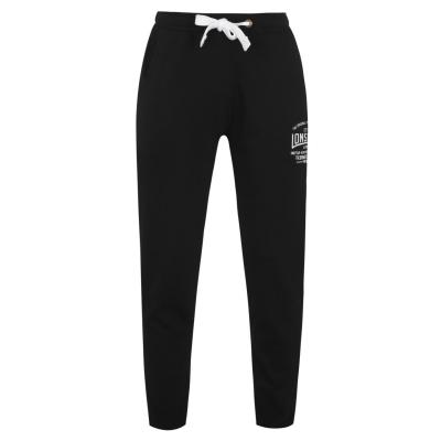 Pantaloni trening Lonsdale Box Lightweight pentru Barbati negru