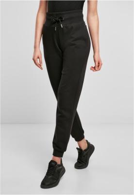 Pantaloni trening Organic cu talie inalta pentru Femei negru Urban Classics