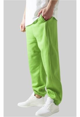 Pantaloni trening rapper verde-lime Urban Classics