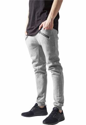 Pantaloni trening tur lasat gri Urban Classics