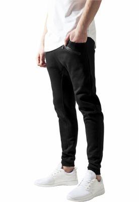 Pantaloni trening tur lasat negru Urban Classics