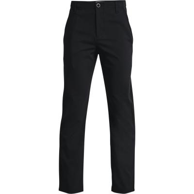 Pantaloni Under Armour Golf pentru baieti negru mod gri