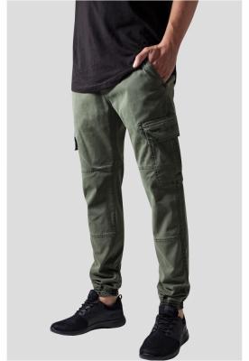 Pantaloni urban cargo cu buzunare oliv Urban Classics