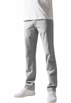 Pantaloni urban casual gri deschis Urban Classics