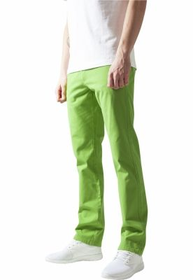 Pantaloni urban casual verde-lime Urban Classics