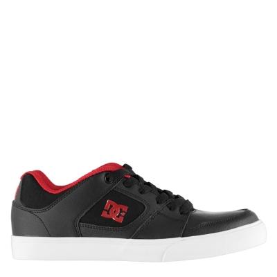 Pantofi Adidasi sport DC Blitz pentru baietei negru rosu