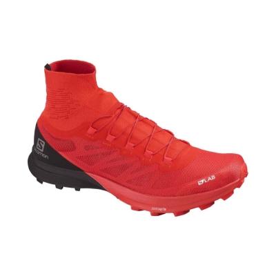 Pantofi Alergare Unisex  S/Lab Sense 8 Sg Racing Red/Bk/Wh Salomon