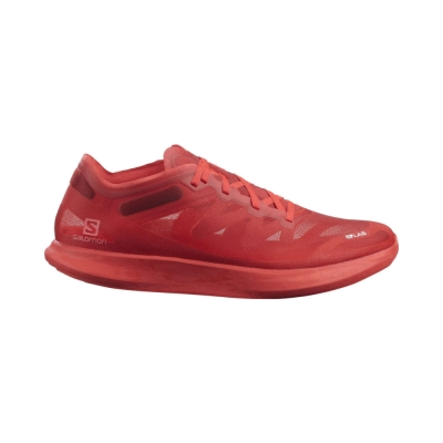 Pantofi Alergare Unisex Salomon S/LAB PHANTASM Rosu