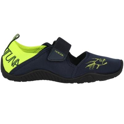 Pantofi apa Tuna Splasher Pantofi apa Hot Strap Aqua pentru Copii bleumarin verde lime