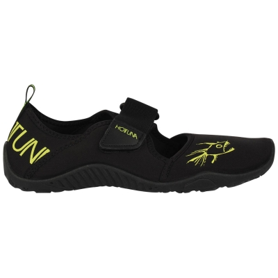 Pantofi apa Tuna Splasher Pantofi apa Hot Strap Aqua pentru copii negru verde